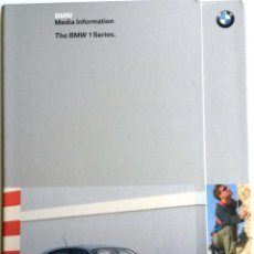 Coches y Motocicletas: DOSSIER PRENSA THE BMW 1 SERIES + CD.. Lote 58061330