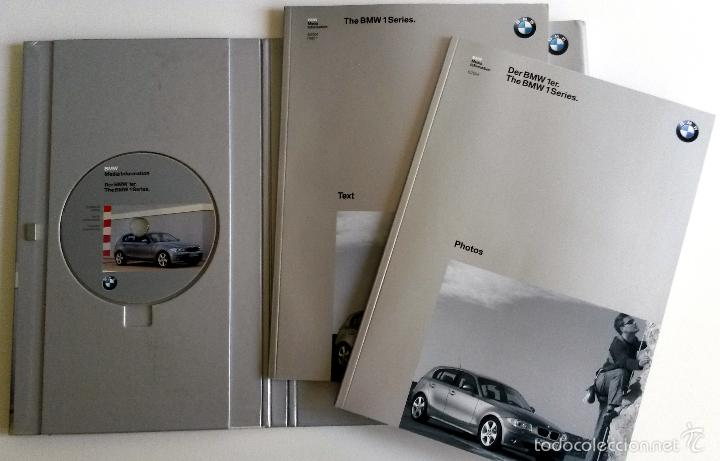 Coches y Motocicletas: DOSSIER PRENSA THE BMW 1 SERIES + CD. - Foto 2 - 58061330