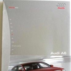 Coches y Motocicletas: DOSSIER PRENSA AUDI A6 + CD + FOTOS.. Lote 58061460