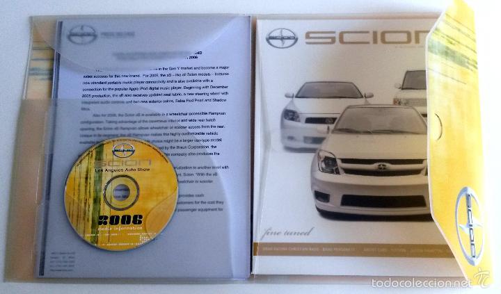 Coches y Motocicletas: DOSSIER PRENSA SCION 2006 + CD. - Foto 2 - 58062296