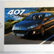 Coches y Motocicletas: DOSSIER PRENSA PEUGEOT 407 - 2003+ CD + FOTOS.. Lote 58063808