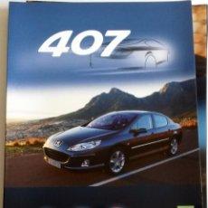 Coches y Motocicletas: DOSSIER PRENSA PEUGEOT 407 BERLINA + CD.. Lote 58063910