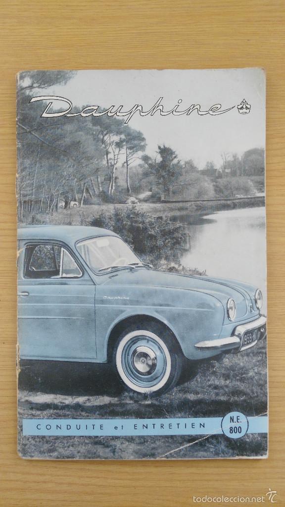 75b099c44 Antiguo catalogo renault gordini dauphine