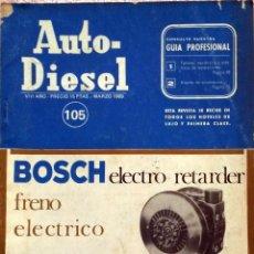 Coches y Motocicletas: REVISTA AUTO-DIESEL Nº 105 - MARZO 1969.. Lote 58185153