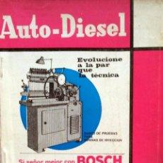 Coches y Motocicletas: REVISTA AUTO-DIESEL Nº 77 - NOVIEMBRE 1966.. Lote 58185319