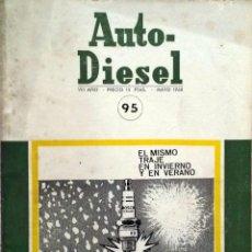 Coches y Motocicletas: REVISTA AUTO-DIESEL Nº 95 - MAYO 1968.. Lote 58185689