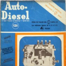 Coches y Motocicletas: REVISTA AUTO-DIESEL Nº 131 - MAYO 1971.. Lote 58186403