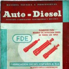 Coches y Motocicletas: REVISTA AUTO-DIESEL Nº 56 - FEBRERO 1965.. Lote 58187560