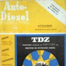 Coches y Motocicletas: REVISTA AUTO-DIESEL Nº 165 - MARZO 1974.. Lote 58298941