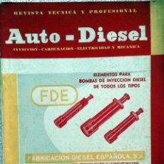 Coches y Motocicletas: REVISTA AUTO-DIESEL Nº 53 - NOVIEMBRE 1964.. Lote 58298979