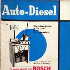 Coches y Motocicletas: REVISTA AUTO-DIESEL Nº 72 - JUNIO 1966.. Lote 58299012