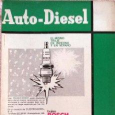 Coches y Motocicletas: REVISTA AUTO-DIESEL Nº 83 - MAYO 1967.. Lote 58299125