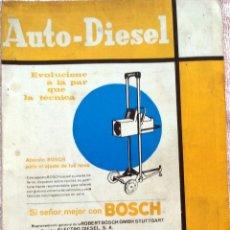 Coches y Motocicletas: REVISTA AUTO-DIESEL Nº 79 - ENERO 1967.. Lote 58299394
