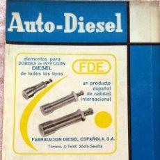Coches y Motocicletas: REVISTA AUTO-DIESEL Nº 67 - ENERO 1966.. Lote 58327266