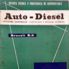 Coches y Motocicletas: REVISTA AUTO-DIESEL Nº 31 - ENERO 1963.. Lote 58327366