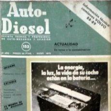 Coches y Motocicletas: REVISTA AUTO-DIESEL Nº 153 - MARZO 1973.. Lote 58327431