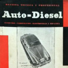 Coches y Motocicletas: REVISTA AUTO-DIESEL Nº 33 - MARZO 1963.. Lote 58327791