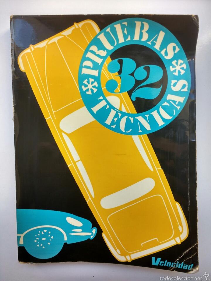 COCHE MOTOR 32 PRUEBAS TÉCNICAS VELOCIDAD MINI CITROËN JEEP AÑOS '70 (Coches y Motocicletas Antiguas y Clásicas - Catálogos, Publicidad y Libros de mecánica)