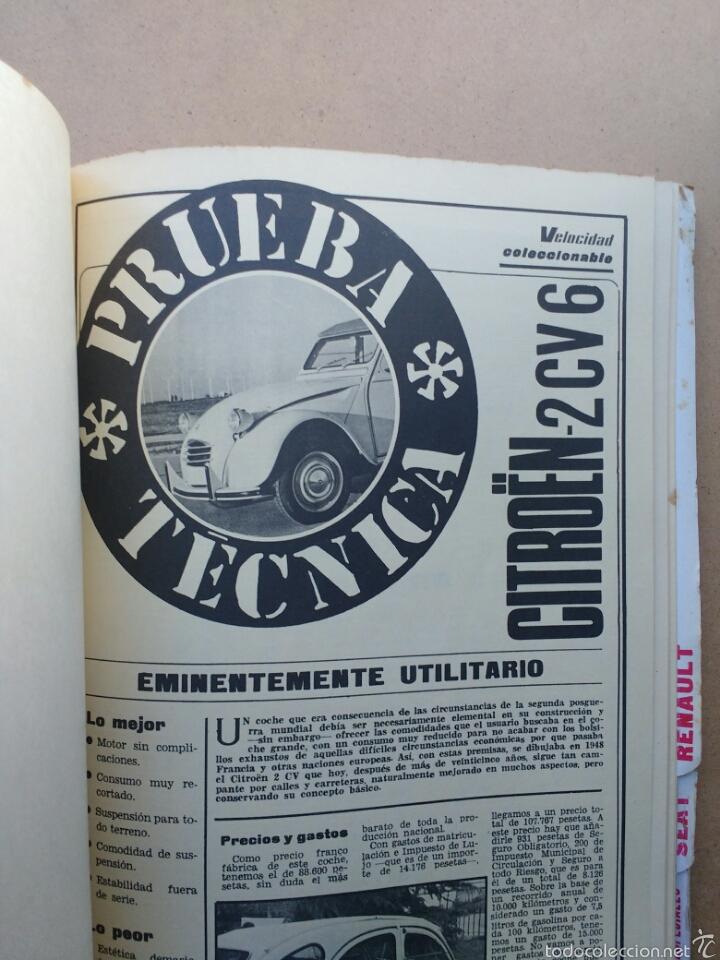 Coches y Motocicletas: COCHE MOTOR 32 PRUEBAS TÉCNICAS VELOCIDAD MINI CITROËN JEEP años 70 - Foto 5 - 58363588