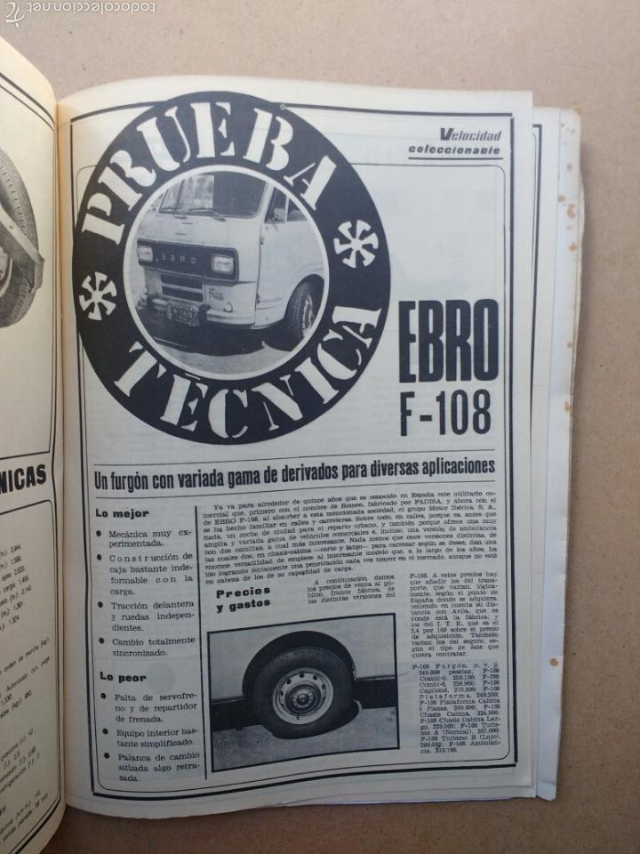 Coches y Motocicletas: COCHE MOTOR 32 PRUEBAS TÉCNICAS VELOCIDAD MINI CITROËN JEEP años 70 - Foto 11 - 58363588