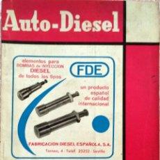 Coches y Motocicletas: REVISTA AUTO-DIESEL Nº 69 - MARZO 1966.. Lote 58366442