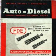 Coches y Motocicletas: REVISTA AUTO-DIESEL Nº 43 - ENERO 1964.. Lote 58367620