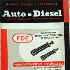 Coches y Motocicletas: REVISTA AUTO-DIESEL Nº 48 - JUNIO 1964.. Lote 58367634
