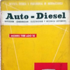 Coches y Motocicletas: REVISTA AUTO-DIESEL Nº 30 - DICIEMBRE 1962.. Lote 58367672