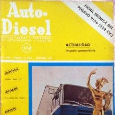Coches y Motocicletas: REVISTA AUTO-DIESEL Nº 174 - DICIEMBRE 1974.. Lote 58367992
