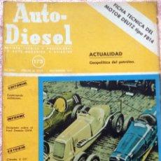 Coches y Motocicletas: REVISTA AUTO-DIESEL Nº 173 - NOVIEMBRE 1974.. Lote 58368053