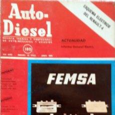 Coches y Motocicletas: REVISTA AUTO-DIESEL Nº 180 - JUNIO 1975.. Lote 58368085