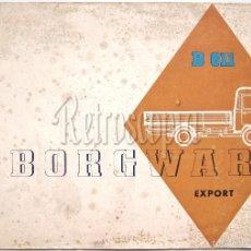 Coches y Motocicletas: CATALOGO PUBLICIDAD CAMIONETA BORGWARD B 611 AÑOS 50 - 60 EN CASTELLANO. Lote 58486149