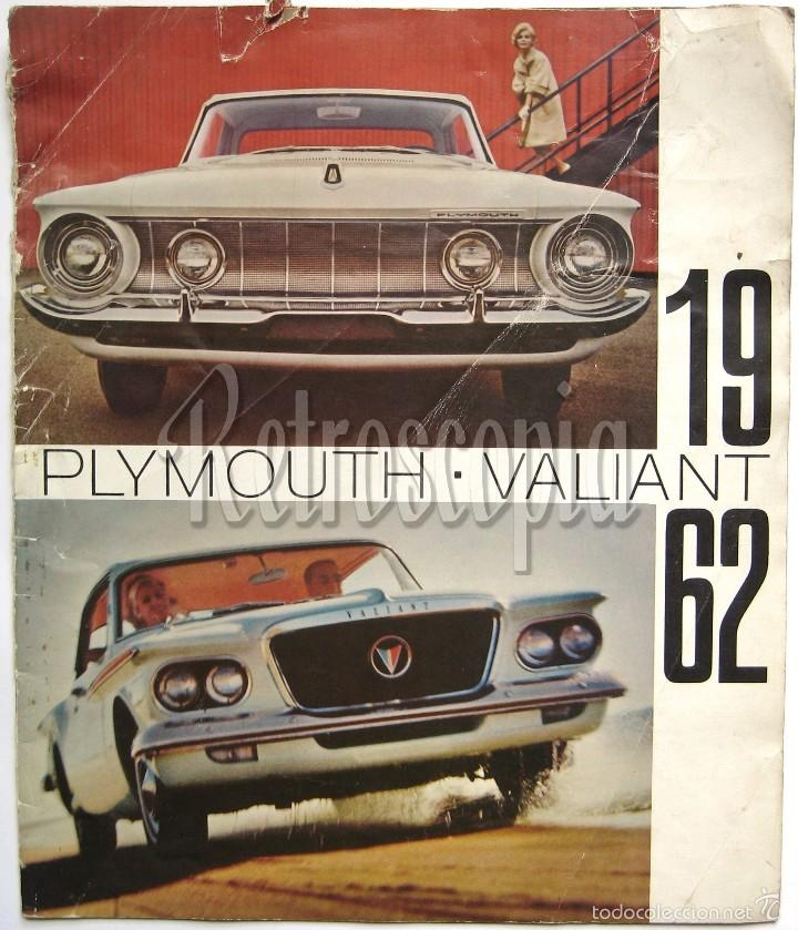 CATALOGO PUBLICIDAD CHRYSLER PLYMOUTH Y VALIANT AÑO 1962 EN CASTELLANO (Coches y Motocicletas Antiguas y Clásicas - Catálogos, Publicidad y Libros de mecánica)