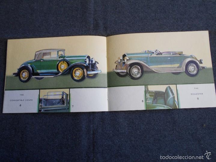 Coches y Motocicletas: The De Soto Six Catálogo impecable estado Todos los modelos Chrysler motors product - Foto 4 - 58504731
