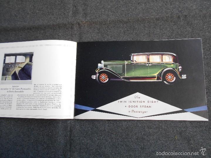 Coches y Motocicletas: Nash 400 año 1930 Lujoso Catálogo de 20 páginas con todos los modelos. Excelente estado. - Foto 4 - 58504993