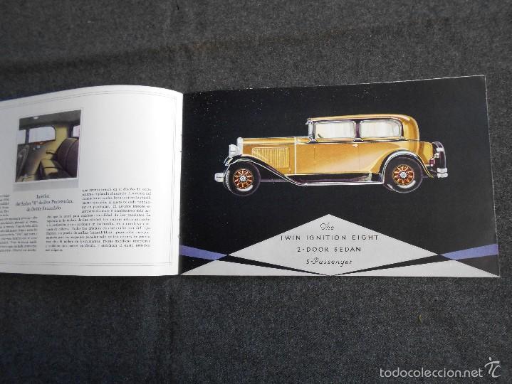 Coches y Motocicletas: Nash 400 año 1930 Lujoso Catálogo de 20 páginas con todos los modelos. Excelente estado. - Foto 5 - 58504993
