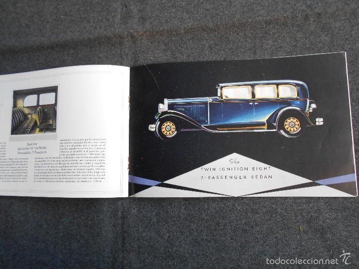 Coches y Motocicletas: Nash 400 año 1930 Lujoso Catálogo de 20 páginas con todos los modelos. Excelente estado. - Foto 7 - 58504993