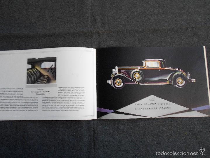 Coches y Motocicletas: Nash 400 año 1930 Lujoso Catálogo de 20 páginas con todos los modelos. Excelente estado. - Foto 9 - 58504993