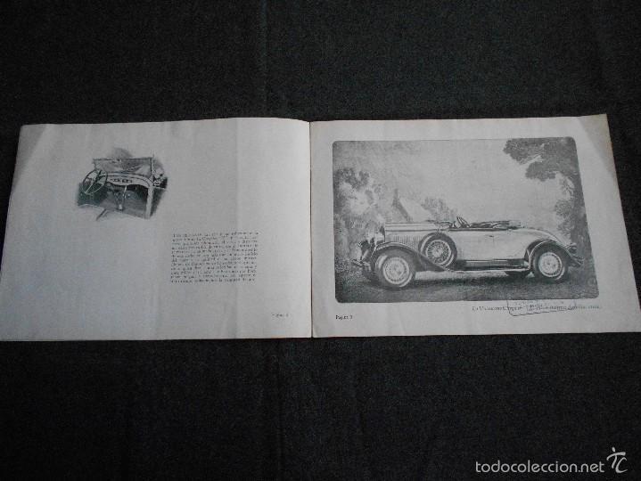 Coches y Motocicletas: Chrysler 75 Catálogo muy lindo de 16 páginas con todos los modelos y características técnicas. - Foto 3 - 58505017