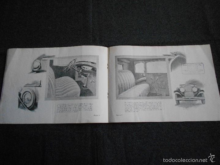 Coches y Motocicletas: Chrysler 75 Catálogo muy lindo de 16 páginas con todos los modelos y características técnicas. - Foto 5 - 58505017