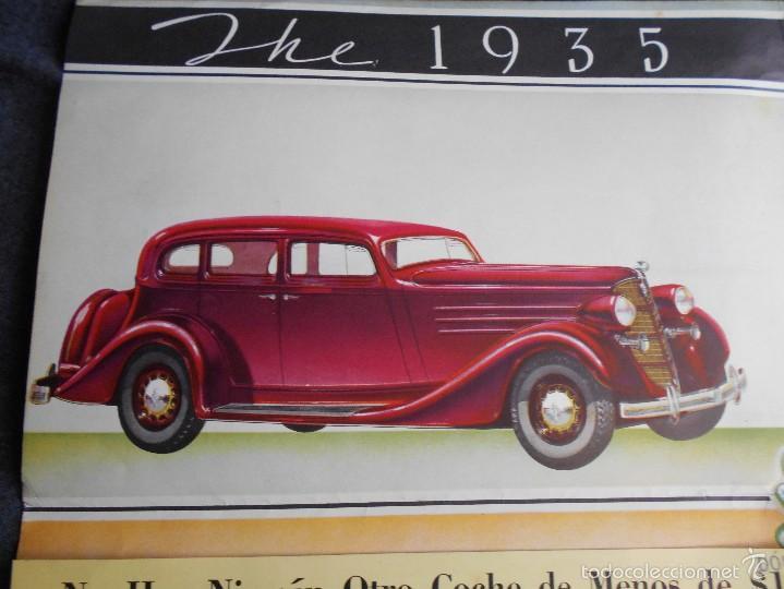Coches y Motocicletas: Lujoso catálogo en castellano The 1935 lafayette nash built desplegable. Características técnicas. - Foto 5 - 58513782