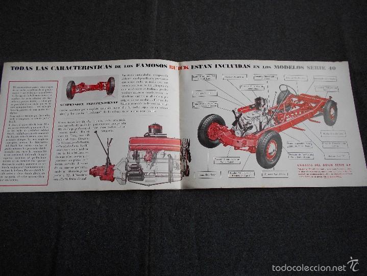 Coches y Motocicletas: Buick serie 40 catálogo con todos los modelos y características técnicas. Muy buen estado. - Foto 3 - 58513941