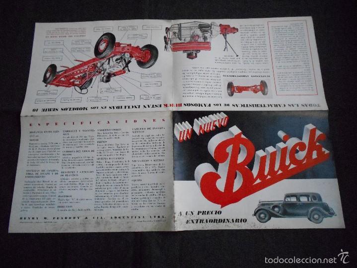 Coches y Motocicletas: Buick serie 40 catálogo con todos los modelos y características técnicas. Muy buen estado. - Foto 5 - 58513941