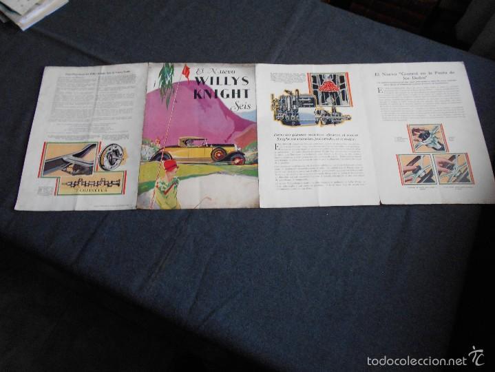 Coches y Motocicletas: Willys Knight seis Catálogo - Foto 3 - 58514127