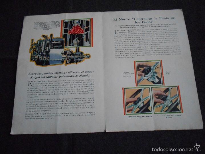 Coches y Motocicletas: Willys Knight seis Catálogo - Foto 4 - 58514127