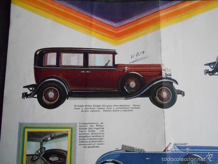Coches y Motocicletas: Willys Knight seis Catálogo - Foto 5 - 58514127