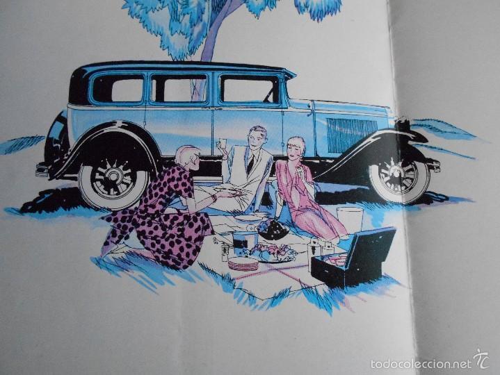 Coches y Motocicletas: Buick 1930 Catálogo General Motors desplegable castellano excelente estado. Características técnicas - Foto 6 - 58514423