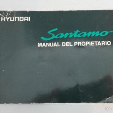 Coches y Motocicletas: HYUNDAI SANTAMO MANUAL DEL PROPIETARIO 1999 EN ESPAÑOL. COMPLETO 164 PAG. Lote 58527947