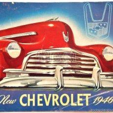 Coches y Motocicletas: CATALOGO PUBLICIDAD CHEVROLET MODELOS DEL AÑO 1946 EN INGLÉS. Lote 58540248