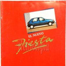 Coches y Motocicletas: CATALOGO PUBLICIDAD FORD FIESTA XR 2I GUIA CLX S CL C AÑOS 80 EN CASTELLANO (50 PAGINAS). Lote 58577697